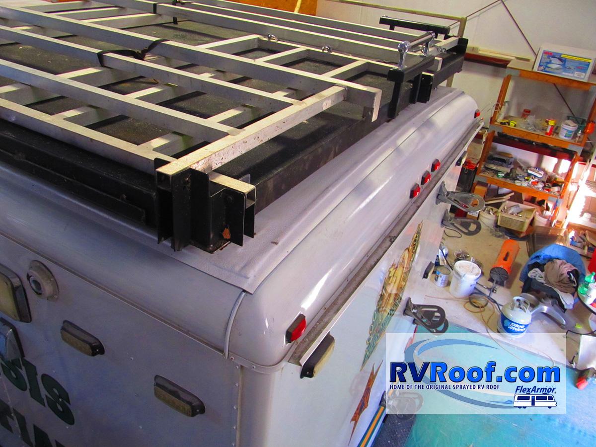 Observation-deck-after-FlexArmor-sprayed-lifetime-no-leak-guaranteed-rv-roof-application